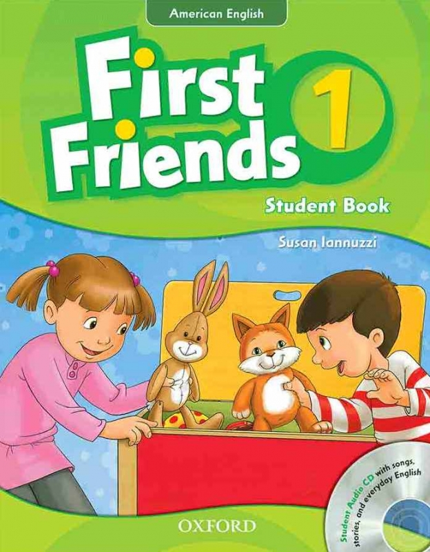 American First Friends 1 SB+WB+CD - Glossy Papers