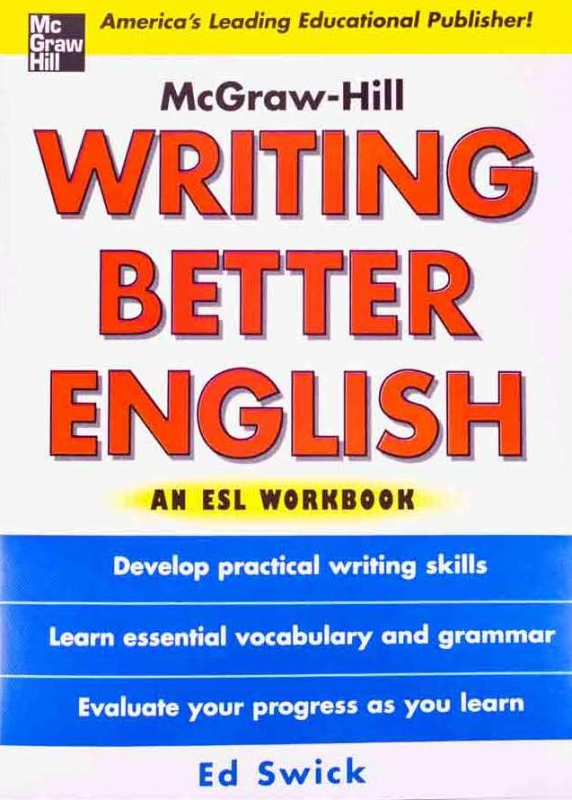Writing Better English An ESL Workbook