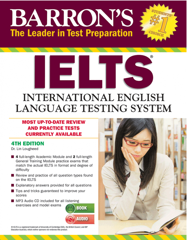 Barrons IELTS 4th+CD