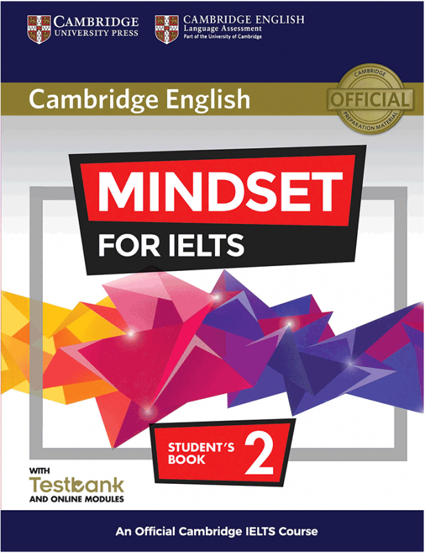 Cambridge English Mindset For IELTS 2 Student Book+CD