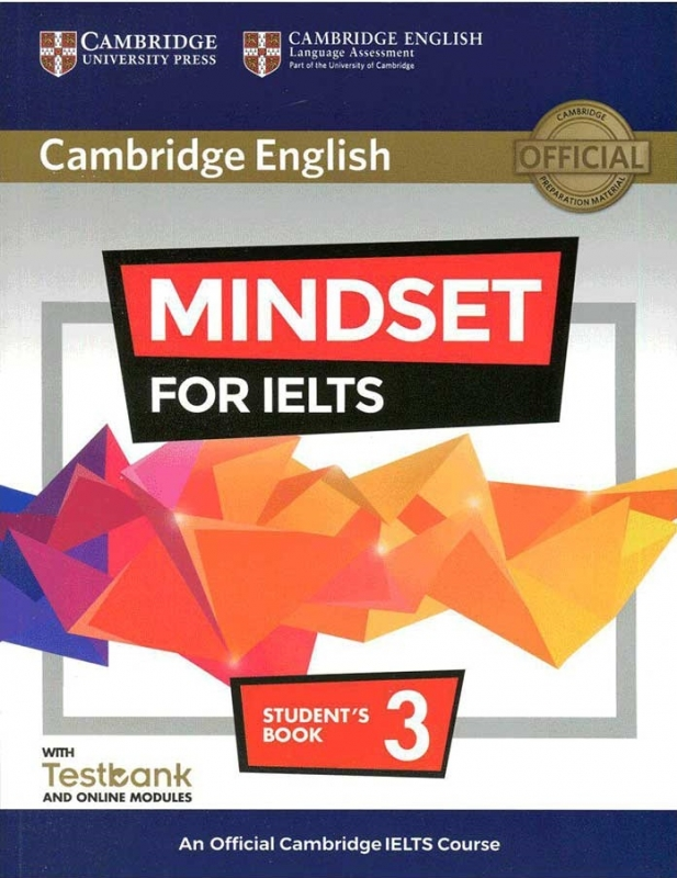 Cambridge English Mindset For IELTS 3 Student Book+CD