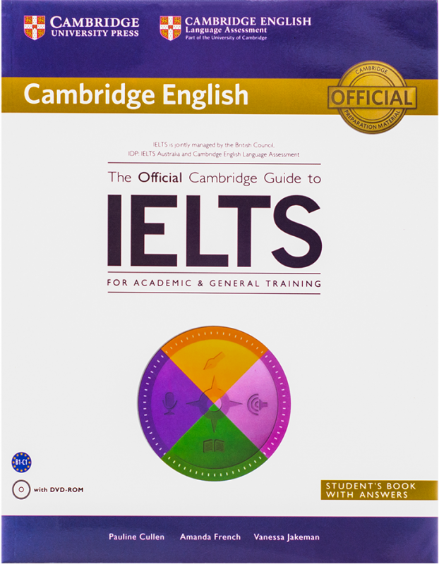 The Official Cambridge Guide to IELTS (Academic&General)+DVD