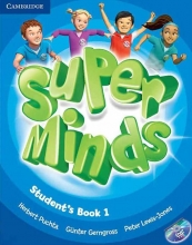 گلاسه Super Minds 1 SB+WB+CD+DVD
