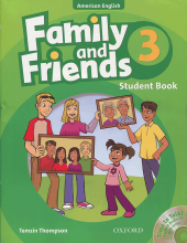 American Family and Friends 3 - SB+WB+CD - Glossy Papers