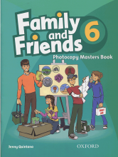 Family and Friends 6 Photocopy Masters Book