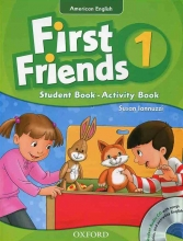 American First Friends 1 In One Volume SB+WB+CD