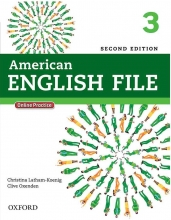 American English File 2nd 3 SB+WB+DVD کاغذ گلاسه