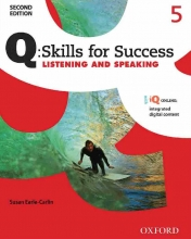 Q Skills for Success 2nd 5 Listening and Speaking+CD