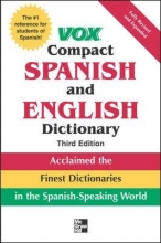 کتاب اسپانیایی Vox Compact Spanish and English Dictionary 3rd