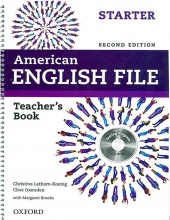 کتاب معلم American English File starter Teacher Book+CD 2nd Edition