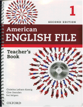 کتاب معلم American English File 1 Teachers Book+CD 2nd Edition
