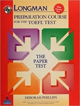 کتاب زبان Longman PBT Preparation Course for the TOEFL Test The Paper Tests with CD