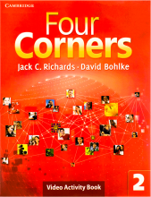 کتاب زبان Four Corners 2 Video Activity book
