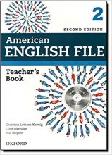 کتاب معلم American English File 2 Teacher Book+CD 2nd Edition