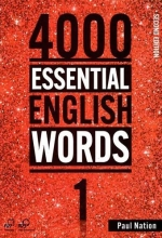 کتاب زبان 4000Essential English Words 2nd 1+CD