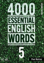 کتاب زبان 4000Essential English Words 2nd 5+CD