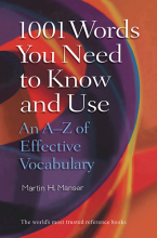 1001Words You Need to Know and Use