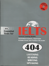 404Essential Tests for IELTS General Training Module Book