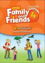 فلش کارت American Family and Friends 4 Second Edition