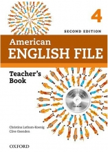 کتاب معلم American English File 4 Teachers Book+CD 2nd Edition