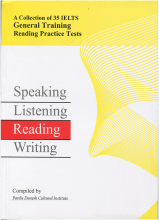 کتاب تست جنرال A Collection of 35 IELTS General Training Reading Practice Tests