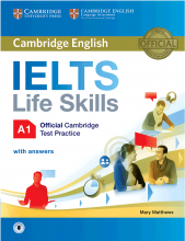 Cambridge English IELTS Life Skills A1+CD