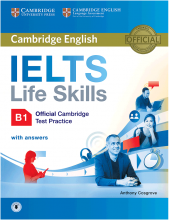 Cambridge English IELTS Life Skills B1+CD