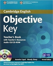 کتاب معلم Objective Key Teacher's Book