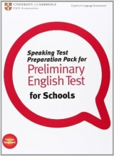Speaking Test Preparation Pack for Preliminary English test for Schools