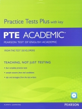 Practice Tests Plus with key PTE Academic