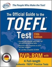 The Official Guide to the TOEFL Test 5th+DVD