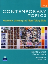 Contemporary topic intro with cd
