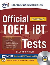 ETS Official TOEFL iBT Tests 2nd - Volume 2+ DVD