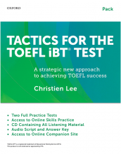 Tactics For The TOEFL IBT Test+Booklet+CD