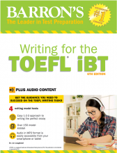 Barrons Writing for the TOEFL iBT 6th +CD