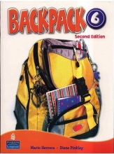 Backpack 6 Student Book, Work Book + 2CD + DVD