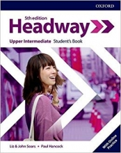 Headway Upper-intermediate 5th edition st + wb + DVD