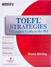 NOVA TOEFL Strategies A Complete Guide to the iBT