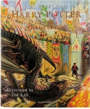 Harry Potter and the Goblet of Fire - Illustrated Edition Book 4