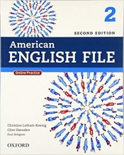 American English File 2nd 2 SB+WB+DVD