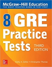 8 GRE Practice Tests, Third Edition