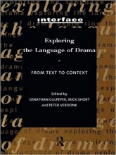 Exploring the Language of Drama: From Text to Context Interface