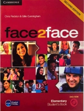 Face2Face 2nd Elementary SB+WB+CD