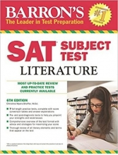 Barron's SAT Subject Test Literature 6th Edition