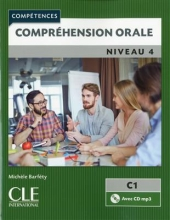 کتاب زبان فرانسه Comprehension orale 4 – Niveau C1 + CD – 2eme edition رنگی