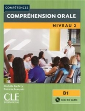 کتاب زبان فرانسه Comprehension orale 2 – Niveau B1 + CD – 2eme edition رنگی