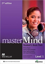 کتاب masterMind 2nd Edition Level 1 Student's Book Pack