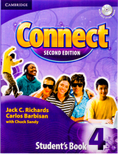 Connect 4 Students Book, Work Book (2nd) with 2 CD