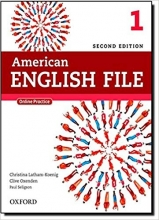 American English File 2nd 1 SB+WB+DVD کاغذ گلاسه