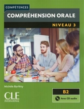 کتاب زبان فرانسه Comprehension orale 3 – Niveau B2 + CD – 2eme edition رنگی